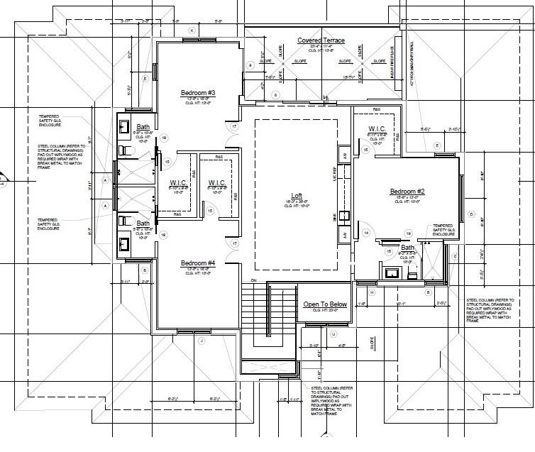 Second Floor under air 1,530 sq ft.